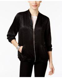 Calvin Klein Plus Size Packable Anorak Jacket - Black