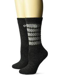 Columbia Wool Crew Sock - Black