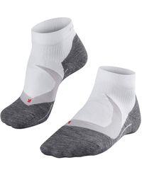 Falke Me Ru 4 Cool Running Sock - White