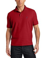 Nautica - Big And Tall Short Sleeve Solid Deck Polo Shirt - Lyst