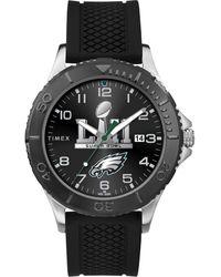 Timex - Tw5m22000 Nfl Gamer Super Bowl 2018 Philadelphia Eagles Watch - Lyst