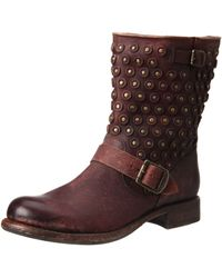 Frye Jenna Disc Short Ankle Boot - Brown