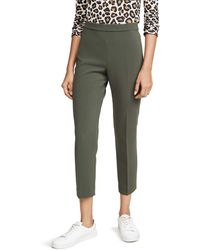 Theory Basic Pull On Pants - Green