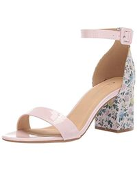 bfd11a5449d CL By Chinese Laundry Jody Heeled Sandal in Pink - Lyst