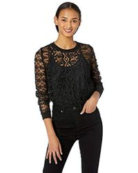 Only Hearts Victorian Lace Sweatshirt - Black