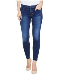 Hudson Jeans Jeans Nico Midrise Crop Skinny With Released Hem 5-pocket Jean - Blue