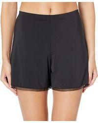 Natori Benefit Half Slip Shorts - Black