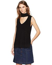 5cfdc3133cf48 Lyst - Bcbgeneration Boxy Crop Top in Black