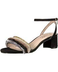 c7dddbd412f Lyst - Nanette Lepore Ruby Two-piece Block-heel Sandals in Black
