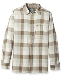 Woolrich - Weekend Eco Rich Double Weave Modern Fit Shirt - Lyst