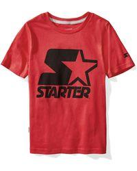 Starter Boys Short Sleeve Faded Logo T-Shirt Exclusive