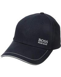 f6b4b61456afa0 Men's BOSS Hats - Lyst