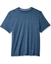 G.H.BASS Sunblocker Short Sleeve Crewneck T-shirt - Blue