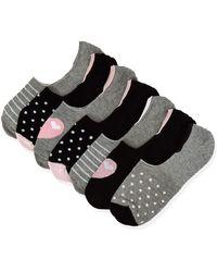 FIND Amazon Brand - Women's Socks, Gray (grey), 6-8 Uk, Label:6-8 Uk