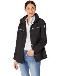 Vince Camuto Spring Gold Jacket Coat - Black
