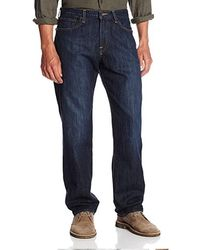 Lucky Brand Big And Tall Big & Tall 329 Classic Straight Jean In Murrell - Blue