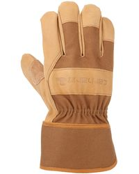 Carhartt System 5 Work Glove With Safety Cuff - Brown