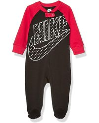 Nike Baby Sportswear Graphic Footed Coverall - Black