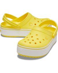 Crocs™ Crocband Platform Clog - Yellow