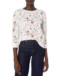 Lucky Brand Floral Printed Sweatshirt - Multicolor