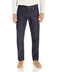Lacoste 5 Pocket Stretch Denim Slim Fit Pant, Hh9529-51 - Blue