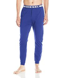 DIESEL - Julio Sleep Pant, Royal Blue, X-large - Lyst