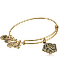 ALEX AND ANI - Charity By Design, Queen Bee Bangle Bracelet - Lyst