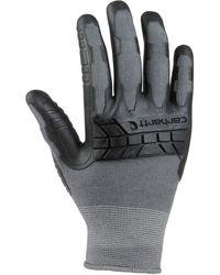 Carhartt S Knuckler C-grip Glove,gray,large