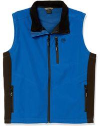 Big and Tall Fleece Vest Wrangler Mens Mens Water Repellent Trail Vest