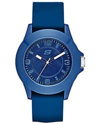 Skechers - Rosencrans Mid Quartz Plastic And Silicone Casual Sports Watch - Lyst