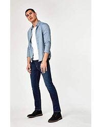 Mavi Zach Straight Leg - Blue