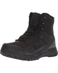 Under Armour Valsetz Rts 1.5 Zip Low Rise Hiking Boots - Black