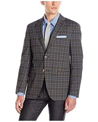 Franklin Tailored - Plaid Newton Sportcoat - Lyst