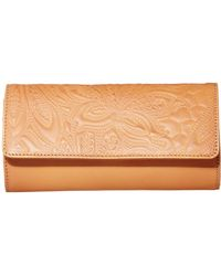 Lucky Brand Lucky Lina Embossed Convertible Wallet - Multicolor