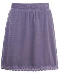 Woolrich Meadow Forks Skirt - Purple
