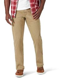 Wrangler Relaxed Fit Jean - Natural