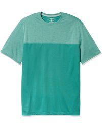 G.H.BASS Big & Tall Tall Sunblocker Short Sleeve Crewneck T-shirt - Orange