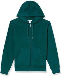 Amazon Essentials Full-Zip Hooded Fleece Sweatshirt Fashion-Hoodies - Verde