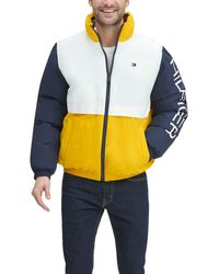 Tommy Hilfiger Tommy Hilfiger Midweight Retro Puffer Coat - Multicolor