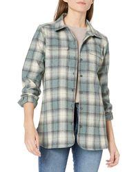 Pendleton Long Sleeve Board Wool Shirt - Gray