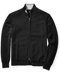 Buttoned Down - Cashmere Full-zip Sweater - Lyst
