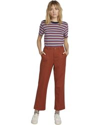 Volcom Frochickie Carpenter Chino Utility Pant - Red
