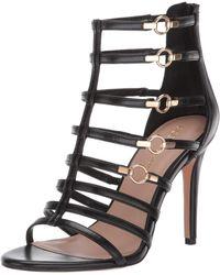 BCBGeneration Jean Caged Sandals - Black