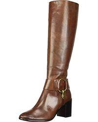 Frye Julia Harness Tall Boot - Brown