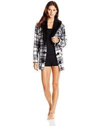 Kensie - Sleep Cardigan Sweater - Lyst