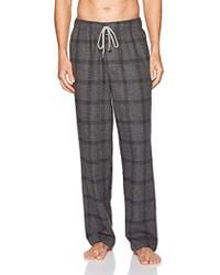 Kenneth Cole - Flannel Pant - Lyst