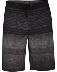 "Hurley Phantom Printed 21"" Stretch Boardshort Swim Short - Black"