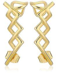 Noir Jewelry - Greeley Ear Cuffs - Lyst
