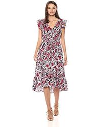 Lucky Brand - Asymmetrical Dress - Lyst