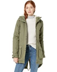 Volcom Walk On By Parka - Green
